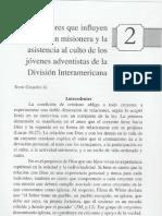 2 Factores Que Influyen en La Accion Misionera
