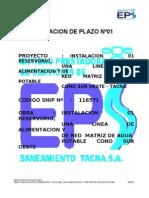 AMPLIACION DE PLAZO Nº01 - dario