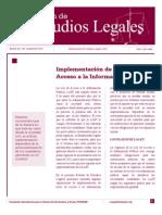 Boletn No. 129 Septiembre 2011 Sobre Ley de Acceso