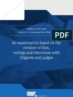 Habeas Data and Access to Information Report