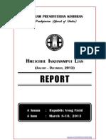 Hmeichhe Inkhawmpui Lian 2013 Reports