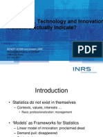 Godin, B. Lane, J. (2011) Do Science Technology and Innovation Indicators Actually Indicate?