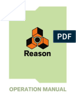 Reason 6.5 Operation Manual
