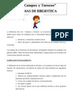 Normas de La Biblioteca[1]