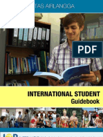 UA International Student Guidebook 2012