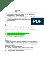 Act 5 - Quiz 1 legislación de comunicaciones UNAD