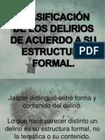 EL DELIRIO DE LOS TRASTORNOS ORGÁNICOS (DELIRIUM