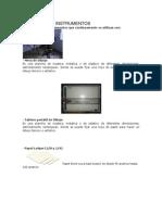 Materiales e Instrumentos Del Dibujo Tecnico