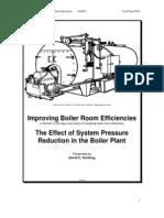 Steam Pressure Reduction