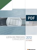 Lista Precios LivingLight 12