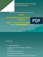 Tema II Politica y Planificacion Territorial-parte i