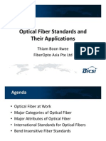 Optical Fibre Standards-Applications