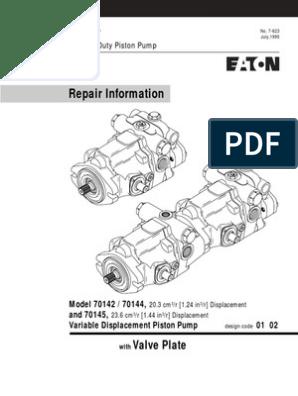 eaton 70145-rdy-02 | Valve | Bearing (Mechanical)