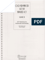Unit 3 OCR - ICT Solutions for Individuals and Society - Liberty Hall