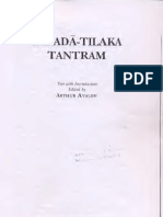 IntroductionToSarada TilakaTantram Text