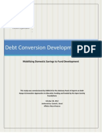 UNESCO - Debt Conversion Development Bonds - 2012