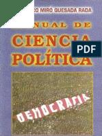 Quesada Rada Francisco - Manual de Ciencia Politica