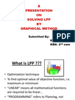 Graphical Method (linear programming Problem)