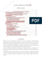 Rapport Lazslo - Avril 2008