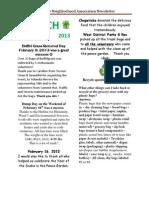Sna Newsletter 3 2013