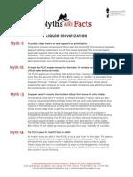Liquor Privatization Facts and Myths