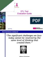 ETL Tool Evaluation Guide