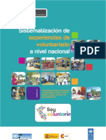 Cuadernillo de sistematización de experiencias de voluntariado a nivel nacional _ Soy Voluntari@