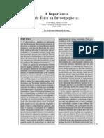 A importância da Ética na Investigação (2004)