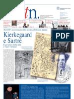 Articolo Giornale Su Sartre e Kierkegaard