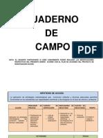 DISEÑO DE CUADERNO DE CAMPO