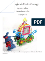 Sizzix Storybook Easter Carriage by Jim R. Hankins