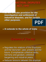 Industrial Disputes Act