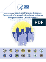 Community Mitigation Pandemic Flu