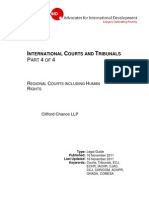 International Courts and Tribunals Part 4