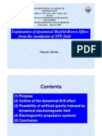 Explanation of dynamical Biefeld-Brown Effect  from the standpoint of ZPF field