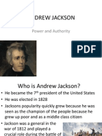 Andrew Jackson Power Point