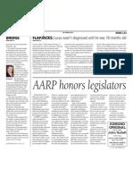 AARP Honors Legislators