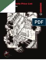 Accordio Parts List Retail 2010