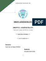 Tema de Control Drept Administrativ