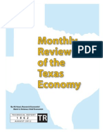 TX Economy - July 2012