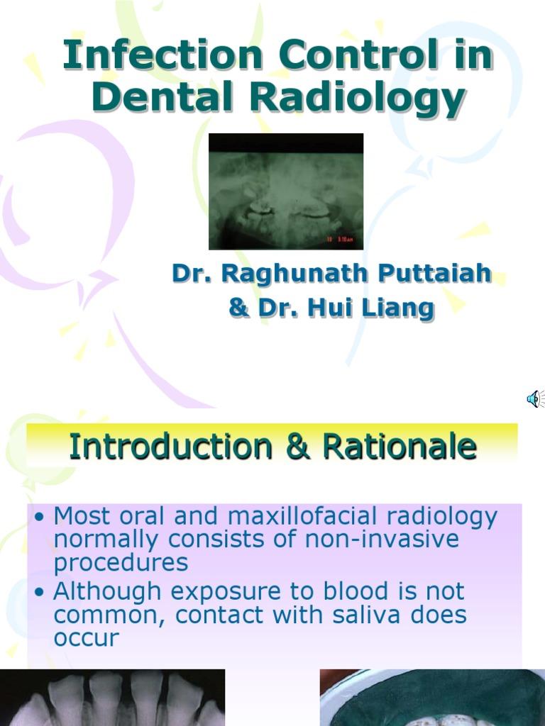 Workbooks infection control workbook : 9. Infection Control in Dental Radiology | Infection Control ...