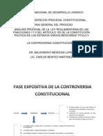 Analisis Procesal de La Controversia Constitucional