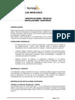 Esp. Técnicas Sanitarias rev 09-11 para Paita - ok