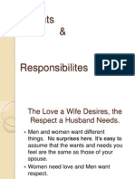 Session 10 Rights & Responsibilities in Marriage