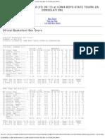 Kuemper vs Mfl-m-m (03 08 13 at Iowa Boys State Tourn-2a Consolation)