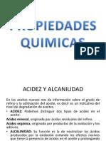 PROPIEDADES QUIMICAS LUBRICANTES