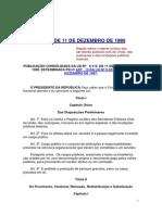 LEI Nº 8.112 com alteração em 2012