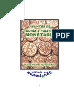 Apuntes de teoría y política monetaria-libro