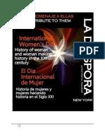 Homenaje a Ellas Dia Internacional de la Mujer Historia de mujeres y mujeres haciendo historia en el Siglo XXI