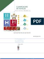 Turismo y Clasificacion de Hoteles, Una Guia
